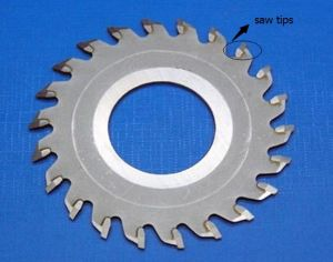 Saw Tips for Cutting Blade Made in Zhuzhou Carbide Facotry pictures & photos