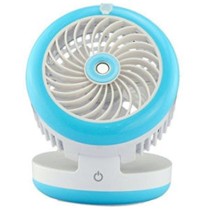 Desk Fold USB Cooling Misting Fan Bedroom Portable Humidifier Control Water Spray pictures & photos