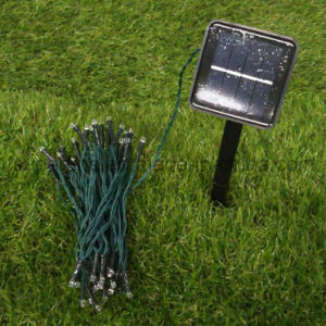 Insert Ground Solar Power LED String Light for Garden or Pathway pictures & photos