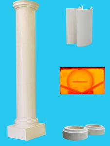 Artificial Stone Crystallized Glass Polished Surface Column Pillar pictures & photos