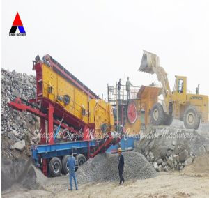High Efficiency China Mobile Cone Crusher pictures & photos