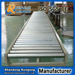 Gravity Roller Conveyor for Roller Conveyor Line Gold China Manufacturer pictures & photos