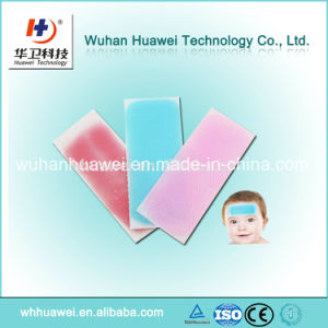 Fever Cooling Gel Sheet Headache Cooling Gel Pad for Child Adult pictures & photos