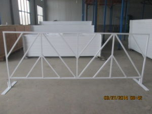 Hot Dipped Galvanized Crowd Control Barrier / Metal Barricades pictures & photos