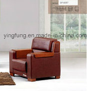 New Design PU Leather Office Sofa (SF-6057) pictures & photos