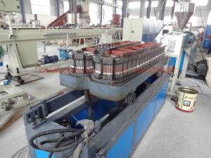 Plastic Single Wall Corrugated Pipe Extruder Machine / Plastic Corrugated Tube Production Line pictures & photos