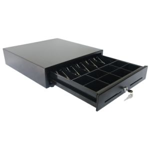 Slide Cash Drawer Adopts SPCC Cold Rolling Steel Plate Shell pictures & photos