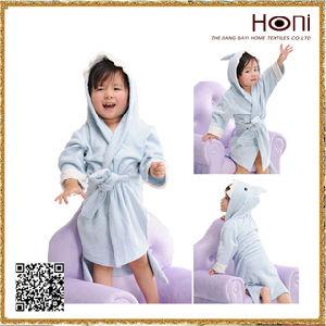 Hooded Towel for Baby, Baby Bathrobe, 100% Cotton Bathrobe