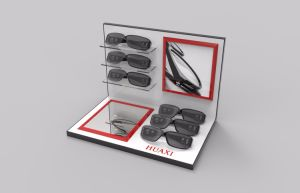 Custom Store Eyewear Glasses Display with Mirror pictures & photos