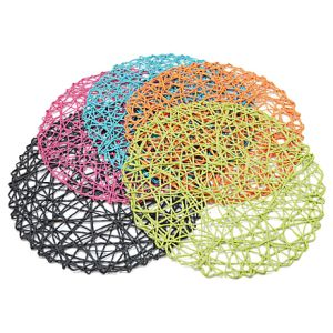 Colorful Natural Material Strings Tableware for Home & Decorations pictures & photos