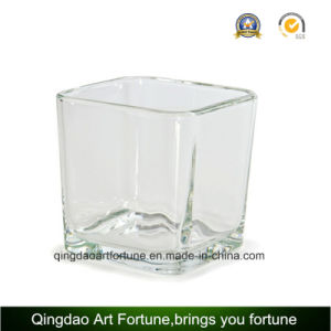 Mercury Cube Votive Glass Candle Holder for Christmas pictures & photos