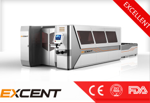 1000W High Speed of Fiber Laser Machine for Graving and Cutting with Exchange Platform pictures & photos