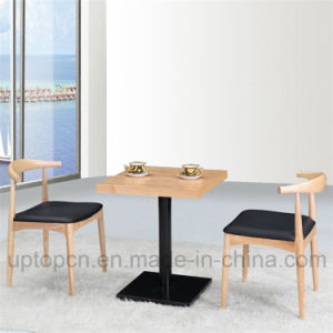 Commercial Wooden Restaurant Furniture Set with Square Table (SP-CT625) pictures & photos