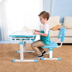 Newest Hot Sell Desktop Study Table, Kids Table and Chairs