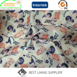 100 Polyester Suit Jacket Lining Fabric Printing Lining pictures & photos