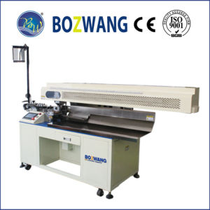 Computerized Cutting and Stripping Machine with Wire Collecting Conveyor pictures & photos