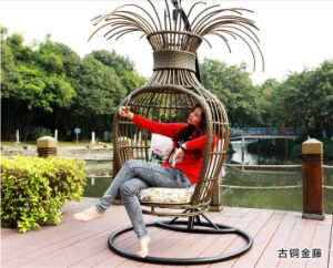 2017 New Design Outdoor Modern Garden Swing Chair (HC633) pictures & photos