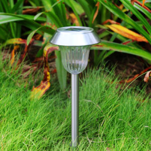 Stainless Steel Outdoor Solar LED Stake Light Solar Lawn Light Path Garden Lamp pictures & photos