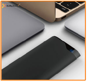 New Cheap Polymer Battery Power Bank 10000mAh with LED Display, Two Output, on off Button pictures & photos
