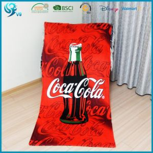 100% Cotton Cmyk Printed Customized Summer OEM Beach Towel pictures & photos