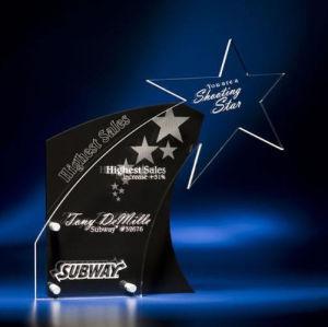 Custom Acrylic Medal Trophy/Acrylic Award/ Medal Stand pictures & photos