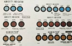 10% Hic Humidity Indicator Sensor Card pictures & photos