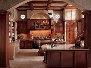 Modern Solid Wood Discount Kitchen Cabinet Prima pictures & photos