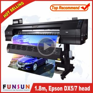 Hot Selling Funsunjet Fs-1802g 1.8m/6FT Outdoor Wide Format Printer with Two Dx5 Heads 1440dpi for Flex Banners Printing pictures & photos