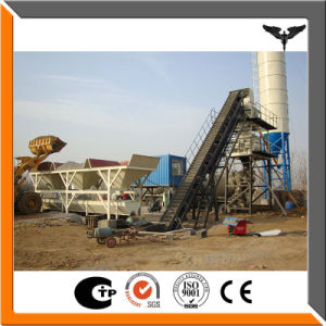 Factory Direct Stationary Concrete Batching Plant pictures & photos