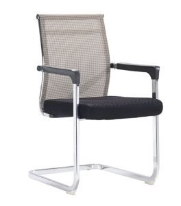 Modern Black Office Meeting Room Mesh Visitor Chair pictures & photos
