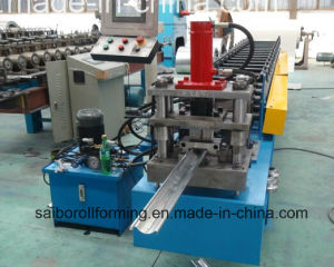 Garage Door Roll Forming Machine with Punching Holes pictures & photos