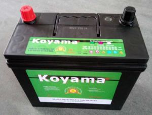 Starting Maintenance Free Automobile Battery Ns60lmf (12V45Ah) pictures & photos