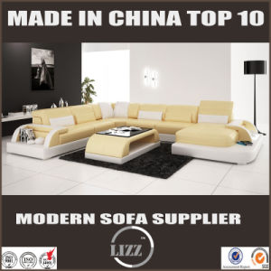 Home Furniture Fashion Design for Living Room Leather Sofa Set pictures & photos