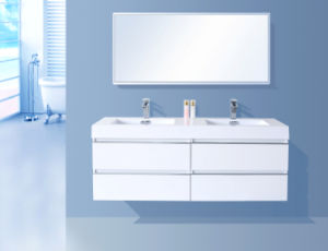 Simple Painting Bathroom Cabinet (chipboard) pictures & photos