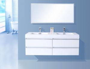 Simple Painting Bathroom Cabinet (chipboard)