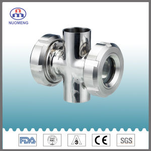 Sanitary Stainless Steel Cross Sight Glass pictures & photos