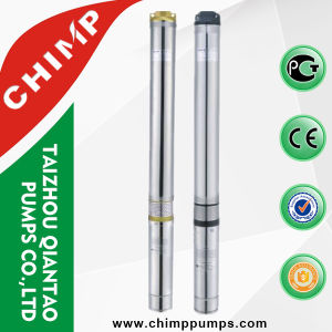 4 Inches 1.0HP Stainless Steel Submersible Deep Well Electric Irrigation Water Pumps pictures & photos