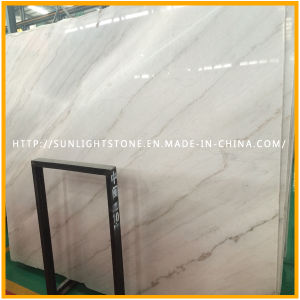 High Polished White Marble Slab, Chinese Guangxi White Stone pictures & photos