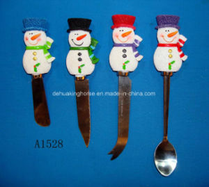 Stainless Steel Dinner Fork with Resin Handle pictures & photos