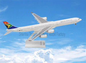 A340-600 South African ABS Plastic as a Gift for Model Plane pictures & photos