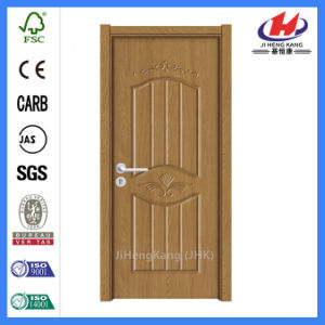 1 Panel Jamb Design Molded Interior PVC Door (JHK-P09) pictures & photos