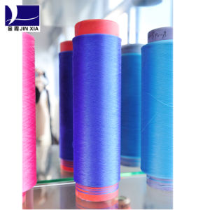 100d/72f Dope Dyed DTY Polyester Filament Yarn pictures & photos