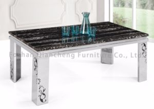 4 Seater Stainless Steel Coffee Table pictures & photos