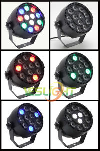 LED Club Light 12PCS*1W RGBW Small LED PAR Lighting pictures & photos