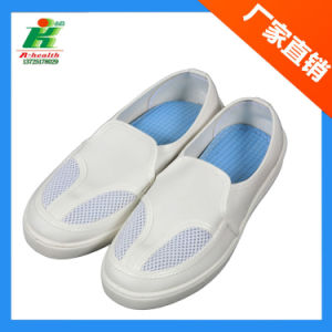 Anti-Static PU Cleanroom Working Shoes pictures & photos