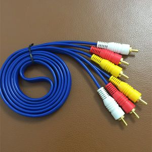 RCA Cable, RCA Connector Cable, 3RCA to 3RCA (3R-3R) , Male-Male Cable pictures & photos