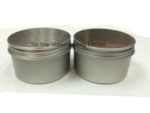 Metal Tin Box with Screw Tin Lid