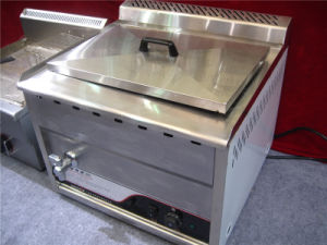 Electric Oil-Water Mixed Fryer for Frying Food (GRT-E86V) pictures & photos