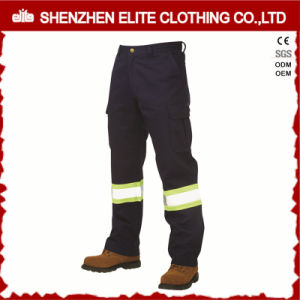 Reflective High Visibility Men Cotton Workwear Pants (ELTHVPI-29) pictures & photos