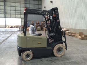3500kgs Electric Forklift Battery Operated Forklift Truck pictures & photos